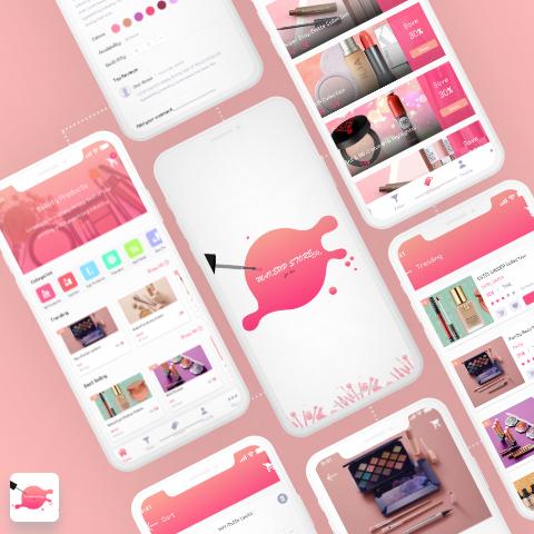 Makeup Store App