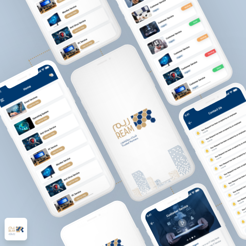 Ream Help Desk App